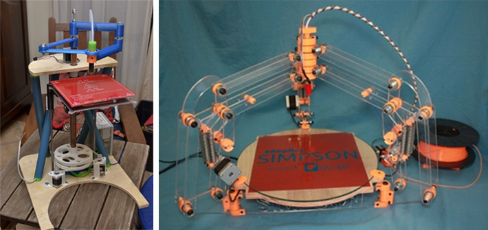 RepRap Morgan and Simpson designs